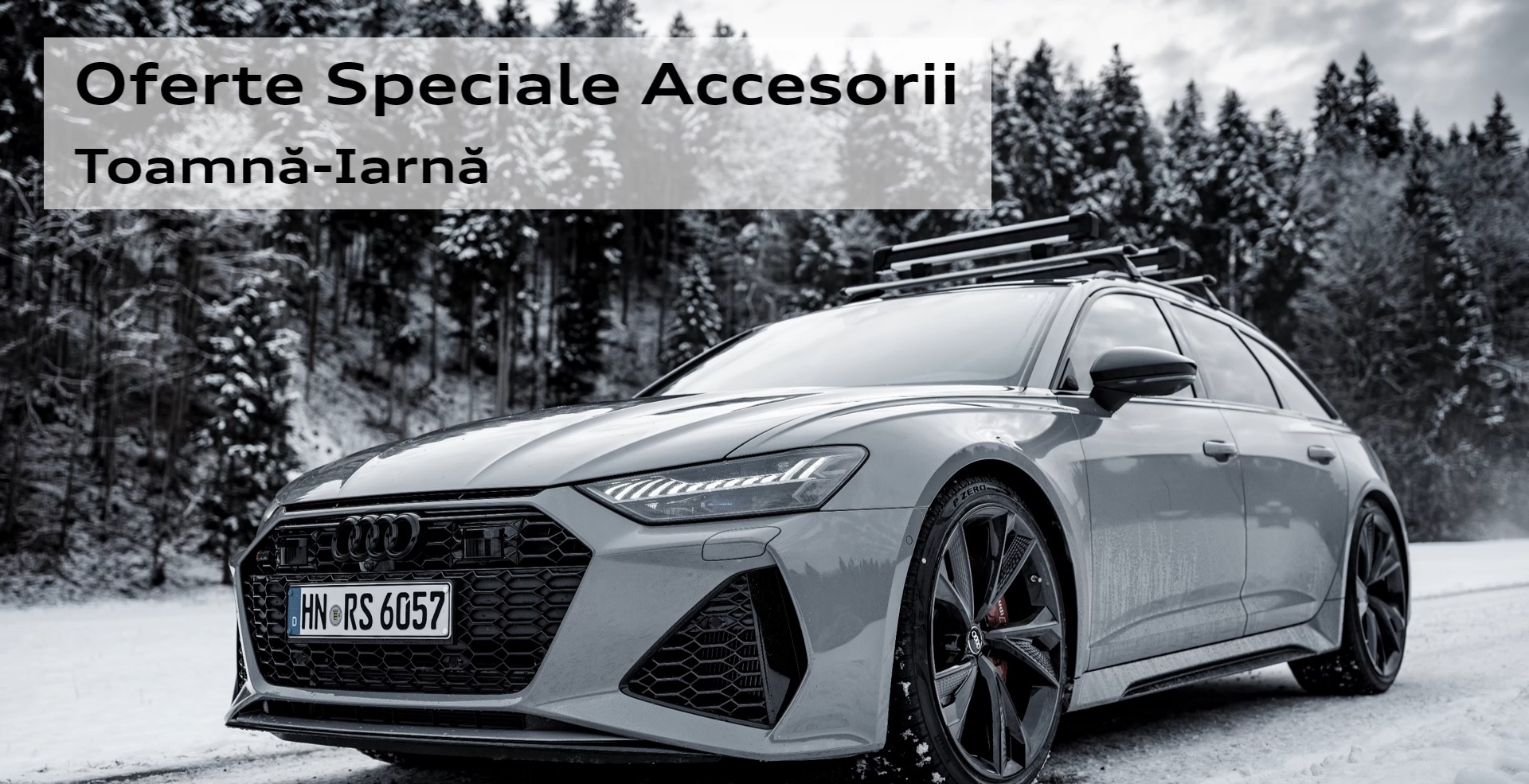 Accesorii de toamna-iarna Audi