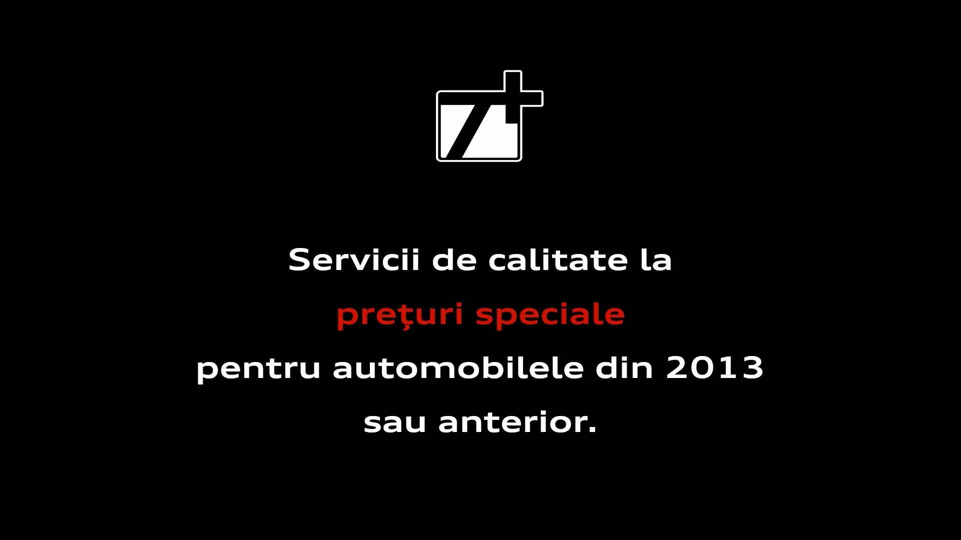 Oferte speciale la automobilele cu experiență de minin 7 ani